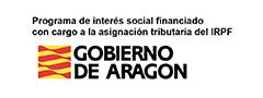 Gobierno de Aragón. Programa interés social - IRPF