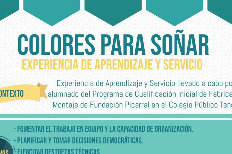 """VIII Jornadas Aprendizaje- Servicio """"Colores para soñar"""""""