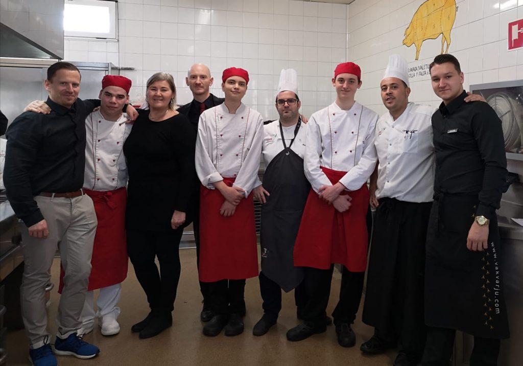 Visita Erasmus Estudiantes Húngaros