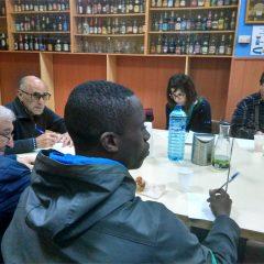 Intercambio generacional con representantes del centro de mayores Balsas
