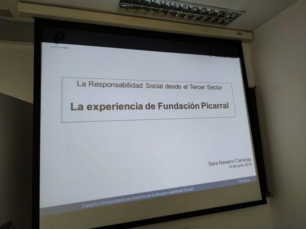 Responsabilidad social desde el tercer sector